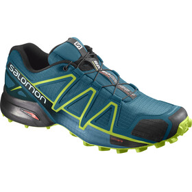 Salomon Speedcross 4 Shoes Men Deep Lagoon/Acid Lime/Reflecting Pond